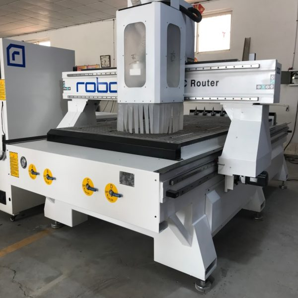 Small Business 1325 2030 CNC Machine With Weihong and Servo Motor Woodworking CNC Router Machine For Aluminum With Tool Changer