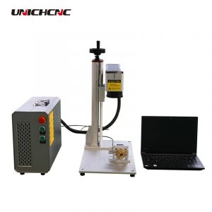 30w /50W/100W fiber laser marker for small business home use marking machine