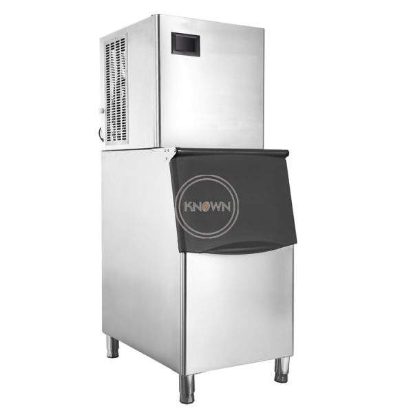 150kg/day Automatic Ice Making Machine Commercial Cube Ice Maker Small Business Machinery for Milk Tea Bar Coffee shop