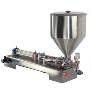 Small business for manual peanut butter filling machine