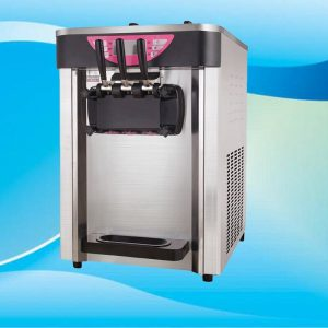 table top soft Ice Cream Machine soft ice cream maker three flavors small business ice cream machine hot sale