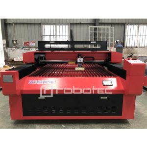Heavy body RECI Steel laser cutter 4×8 feet CO2 wood laser cutting machine 150W laser engraver for sale for small business