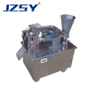 SYJ-80 Automatic business small samosa maker dumpling making machine/empanada maker frozen gyoza forming machine