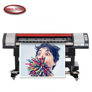 Professional Industrial 1.8M / 6Feet One XP600 Digital Printing Machine  Vinyl Flex Banner Printer Outdoor Printer Eco Solvent