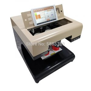 Chocolate Macaroon printer machine 4 cups coffee printer coffee Printing machine for Cappuccino Biscuits