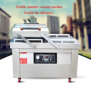 Automatic Vacuum-Packer food sealer vacuum packaging machine commercial industrial vacuum sealing machine with Printing function