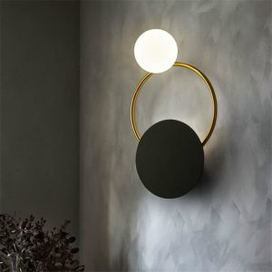 Post-Modern LED Wall Light Bedroom Bedside Bathroom Wall Lamp Nordic Industrial Vintage Stairs Corridor Home Decor Light Fixture