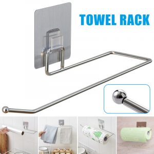 Toilet Roll Holder Stand Organizer Rack Cabinet Paper Towel Hanger Bathroom Accessories YU-Home