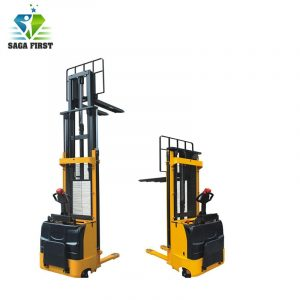 CE Certificated Lifting Equipment Mobile Cargo Lift Electric Stacker