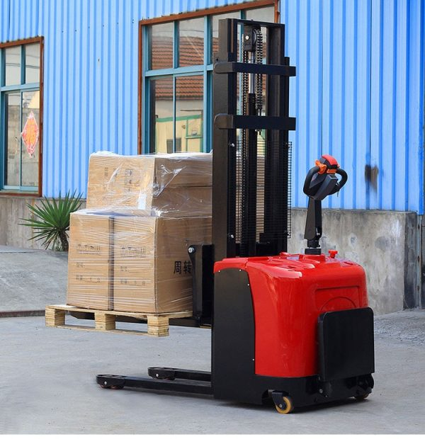 Hot product hydraulic electric stacker/manual forklift/material handling equipment
