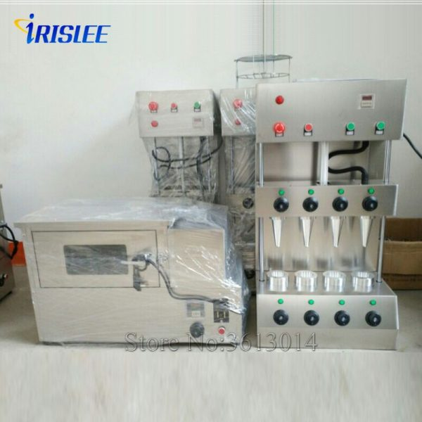 electric conveyor pizza cone oven making machine for restaurant equipment