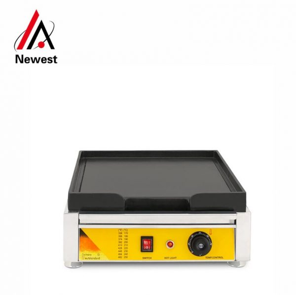 Professional kitchen equipment industrial electric grill/barbecue griddle/steak electric griddle for commercial