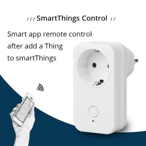 EU Outlet SamrtThings Phone APP Remote Echo Plus Control Smart Gadget Switch Wireless Socket Zigbee 3.0 110~250V Electrical Plug