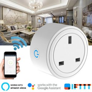 Smart Socket Plug Basic WiFi Wireless APP Remote Control Socket Adapter Power For Alexa Echo Google Assistant Home Kit Mini IFTT