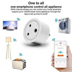 UK/US/EU/JP/IN Wireless Wifi Smart Switch Socket Remote Audio Control Smart Timing Plug adapter Amazon Alexa Google Assistant