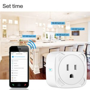 EU US UK Voice Remote Control Home Plug Remote Work with Google Home Alexa IFTTT Smart Plug Wifi Smart Socket Power Monitor