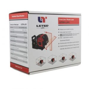 New LETER L2P2 Laser Level Cross Line laser line Plumb laser