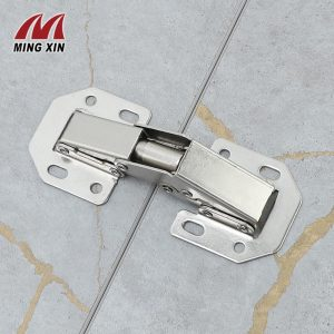 MX 90Degree3-4Inch Not Drilling Hole Cabinet Hinge Cabinet door soft closing hinge Hydraulic buffer hinge Furniture hardware
