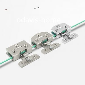 Fitting Glass Door Hinge Without Hole Glass Hinge Clip Cabinet Zinc Alloy Hardware Display Cabinet Glass Furniture Hinge