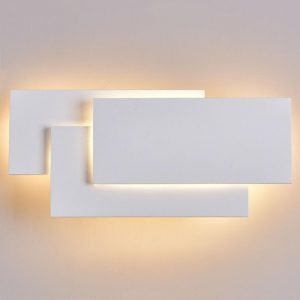 12W LED Wall Sconces Lighting Interior Wall Lamp Contemporary Mounted Lamp With Aluminum Shell for Indoor Bedroom Hot Light