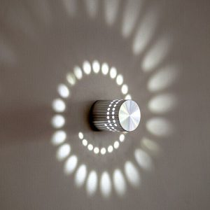 Modern 3W led wall light ,aluminum wall lamp ,AC85-265V indoor decoration for Corridor Porch/Bedroom/background/KTV