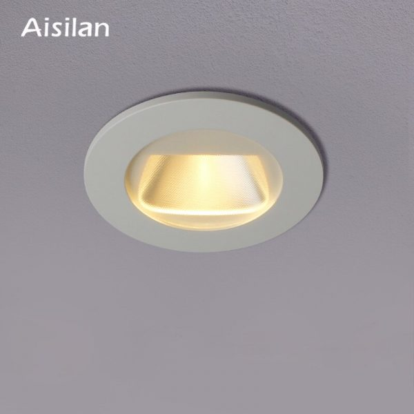 Aisilan LED 7W Polarized Light Wall Washing Embedded Ceiling Downlight Museum store Hotel Commercial indoor lighting