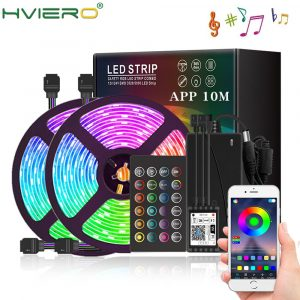 WIFI Music Controller LED Strip 5050 Lamp Belt WiFi Lamp Belt Set LED Lighting APP Remote Control Waterproof  For YouTube Tiktok