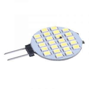 Promotion!  G4 1210 SMD 24 LED Light Bulb Lamp Bulb White SPOT 6000-6500K DC 12V