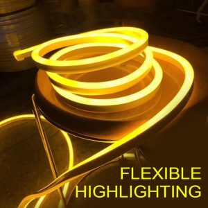 Home Decoration 12V RGB LED Strip Light Neon Light Waterproof SMD 2835 Flexible Ribbon Fita Strip Lamp 1M 2M 3M 4M 5M Tape TSLM2