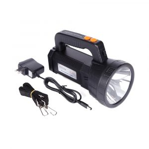 Super Bright Portable Light USB Flashlight 3 Modes LED Lanterna Searchlight Camping Light Built in 9000mA Rechargeable Batttery