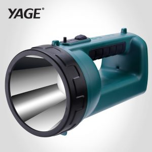 YAGE Portable Spotlight Work Light 1800mAh Rechargeable Led Work Lamp 500m Searchlight Hunting Lantern Handheld Search Light