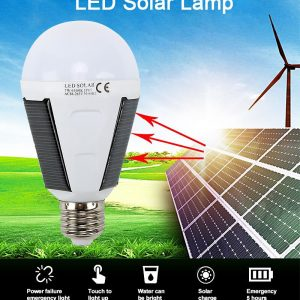 Solar light LED outdoor lighting portable bulb lamp emergency light garden corridor light indoor emergency lighting bulb lamp