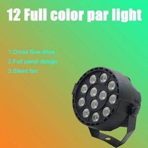 LED Par 12x3W RGBW LED Stage Light Par Light With DMX512 for Disco DJ projector Machine Party Decoration Stage Lighting