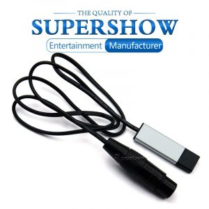 USB to DMX512 Interface Adapter LED DMX512 Computer PC Stage Lighting Remote Control Cable Freestyler Download