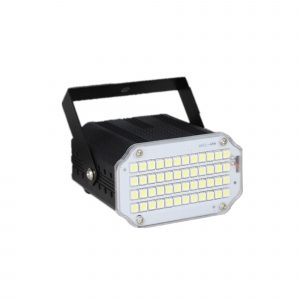 48 LED RGB UV White Strobe Lights Disco DJ Party Holiday Christmas Music Club Sound Activated Flash Stage Lighting Effect