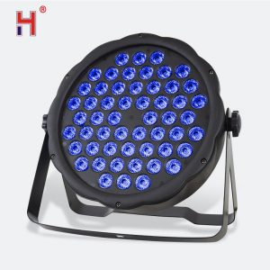 DMX DJ light 54x3W RGB strobe LED Par Light For Disco Party Projector Stage light