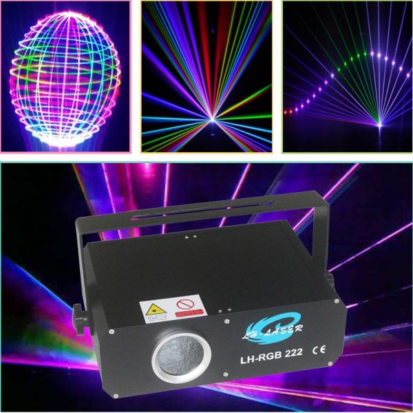 500mw RGB animation analog modulation laser light show /DMX,ILDA laser/disco light /stage laser projector