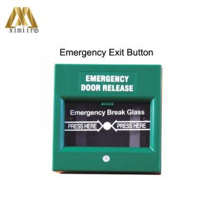 Emergency switch exit button door release glass break alarm button for access control system E20C