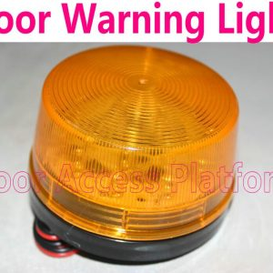 Small Door Warning light DC12V For Access Control System, Security system No Voice, Silent alarm by stroboscopic lamp LED Light