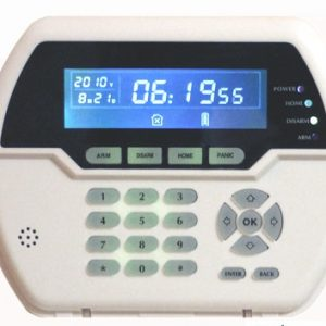 Focus 433Mhz Or 868Mhz option Wireless two Way Keypad With LCD back light USB recharge working with HA-VGT Alarm System