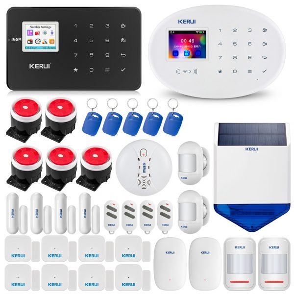 Home Security Protection Alarm KERUI W20 And W18  2.4G WIFI Wireless Network APP Control Tamper Alarm System