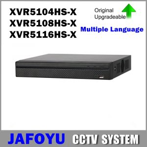 DVR XVR5104HS-X XVR5108HS-X XVR5116HS-X 4ch 8ch 16ch Up to 6MP H265 Smart Search 1080P Compact 1U Digital Video Recorder